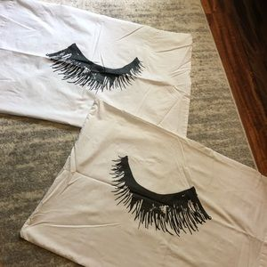 Eyelash Decorative Pillow Cases